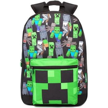 Tasker Rygsække  Minecraft  Black/Green
