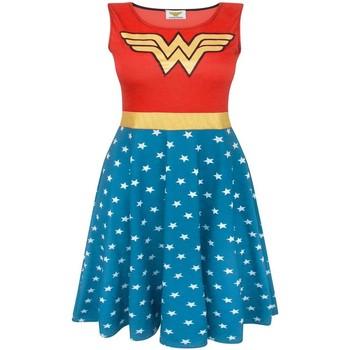 textil Dame Korte kjoler Wonder Woman  Red/Blue
