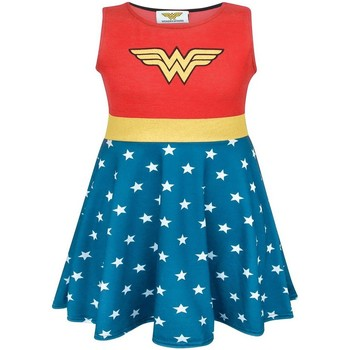 textil Pige Korte kjoler Wonder Woman  Red/Blue