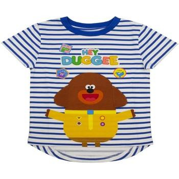 textil Dreng T-shirts m. korte ærmer Hey Duggee  Blue