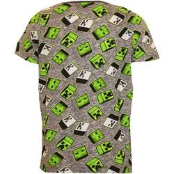 textil Dreng T-shirts m. korte ærmer Minecraft  Green