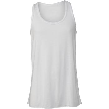 textil Børn Toppe / T-shirts uden ærmer Bella + Canvas BE219 White