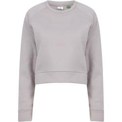 textil Dame Sweatshirts Tombo TL533 Light Grey