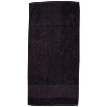 Indretning Håndklæde og badehandske Towel City PC3890 Black
