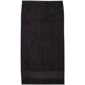 Indretning Håndklæde og badehandske Towel City PC3891 Black