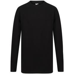 textil Herre Langærmede T-shirts Sf SF259 Black