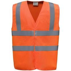 textil Veste / Cardigans Yoko YK110 Orange