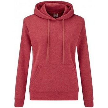 textil Dame Sweatshirts Fruit Of The Loom SS801 Red Heather