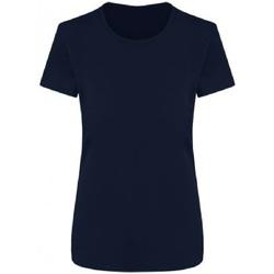 textil Dame T-shirts m. korte ærmer Ecologie EA04F French Navy