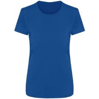 textil Dame T-shirts m. korte ærmer Ecologie EA04F Royal Blue
