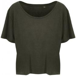 textil Dame T-shirts m. korte ærmer Ecologie EA002F Fern Green