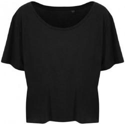 textil Dame T-shirts m. korte ærmer Ecologie EA002F Jet Black