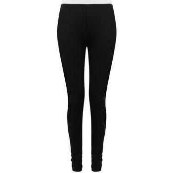 textil Dame Leggings Sf SK426 Black/White