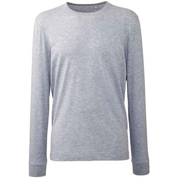 textil Herre Langærmede T-shirts Anthem AM11 Grey