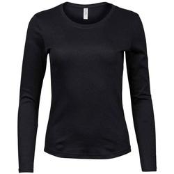 textil Dame Langærmede T-shirts Tee Jays T590 Black