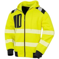 textil Sweatshirts Result Genuine Recycled RS503 Fluorescent Yellow