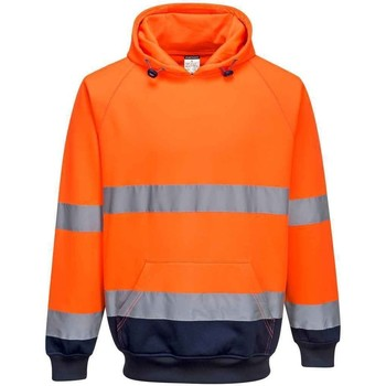textil Herre Sweatshirts Portwest  Orange/Navy
