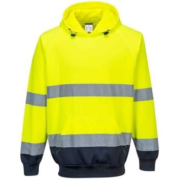 textil Herre Sweatshirts Portwest  Yellow/Navy