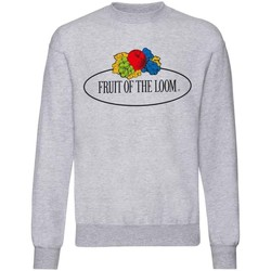 textil Dame Sweatshirts Fruit Of The Loom SS04R Grey Heather