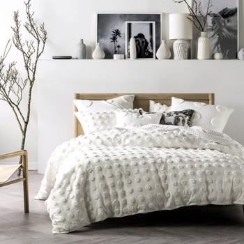 Indretning Dynebetræk Linen House Single RV1305 White