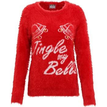 textil Dame Sweatshirts Christmas Shop CS023 Red