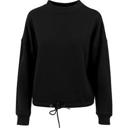 textil Dame Sweatshirts Build Your Brand BY058 Black