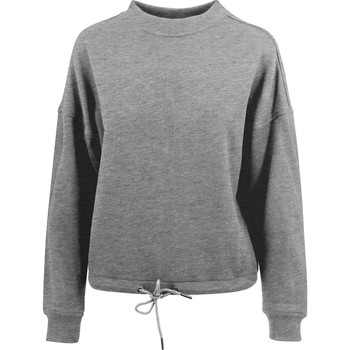 textil Dame Sweatshirts Build Your Brand BY058 Grey