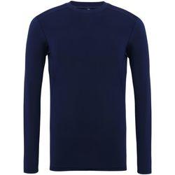 textil Herre Langærmede T-shirts Tridri TR016 Navy