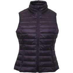 textil Dame Veste / Cardigans 2786 TS31F Aubergine