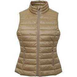 textil Dame Veste / Cardigans 2786 TS31F Khaki