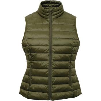textil Dame Veste / Cardigans 2786 TS31F Olive