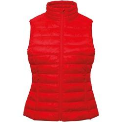 textil Dame Veste / Cardigans 2786 TS31F Red