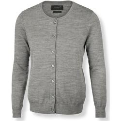 textil Dame Veste / Cardigans Nimbus NB93F Grey Melange