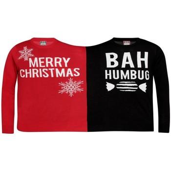 textil Sweatshirts Christmas Shop  Red/Black
