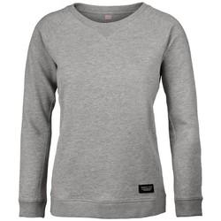 textil Dame Sweatshirts Nimbus NB87F Grey Melange