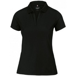 textil Dame Polo-t-shirts m. korte ærmer Nimbus NB86F Black