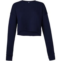 textil Dame Sweatshirts Bella + Canvas BE7503 Navy