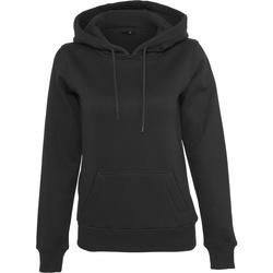 textil Dame Sweatshirts Build Your Brand BY026 Black