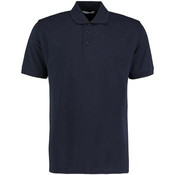 textil Herre Polo-t-shirts m. korte ærmer Kustom Kit KK460 Navy