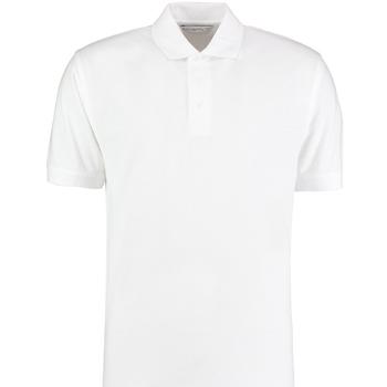 textil Herre Polo-t-shirts m. korte ærmer Kustom Kit KK460 White