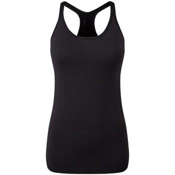 textil Dame Toppe / T-shirts uden ærmer Tridri TR217 Black