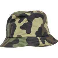 Accessories Hatte Flexfit By Yupoong YP068 Green Camo
