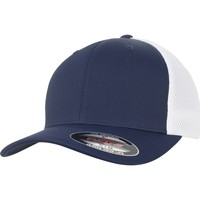 Accessories Kasketter Flexfit By Yupoong YP128 Navy/White