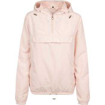 textil Dame Vindjakker Build Your Brand BY095 Light Pink
