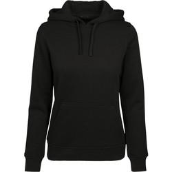 textil Dame Sweatshirts Build Your Brand BY087 Black