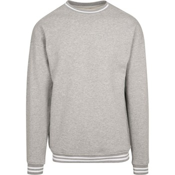 textil Herre Sweatshirts Build Your Brand BY104 Heather Grey/White