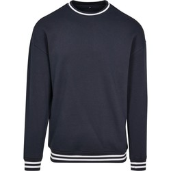 textil Herre Sweatshirts Build Your Brand BY104 Navy/White
