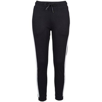 textil Dame Træningsbukser Build Your Brand BY103 Black/White