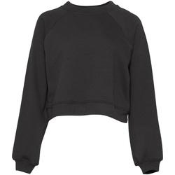 textil Dame Sweatshirts Bella + Canvas BE134 Dark Grey