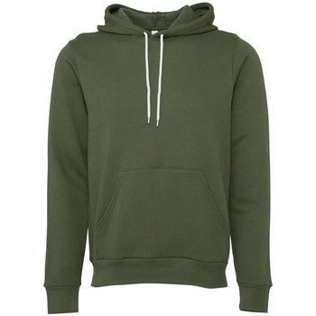 textil Sweatshirts Bella + Canvas BE105 Military Green